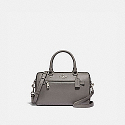 COACH F79946 - ROWAN SATCHEL SV/HEATHER GREY