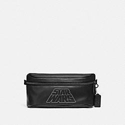 STAR WARS X COACH WESTWAY BELT BAG IN SIGNATURE CANVAS WITH MOTIF - F79948 - QB/BLACK MULTI