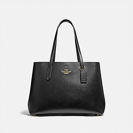 COACH F79988 LARGE AVENUE CARRYALL IM/BLACK-OXBLOOD-1
