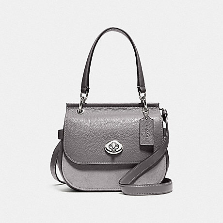 COACH F79991 JACE CROSSBODY SV/HEATHER-GREY