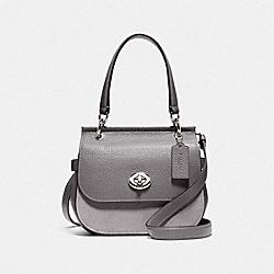 JACE CROSSBODY - F79991 - SV/HEATHER GREY