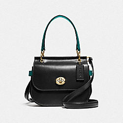 COACH F79992 - JACE CROSSBODY IM/BLACK VIRIDIAN