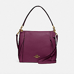 COACH F79994 - MARLON HOBO IM/DARK BERRY