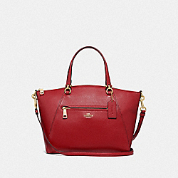 PRAIRIE SATCHEL - F79997 - IM/TRUE RED