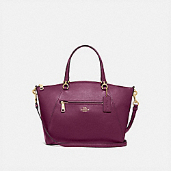 PRAIRIE SATCHEL - F79997 - IM/DARK BERRY