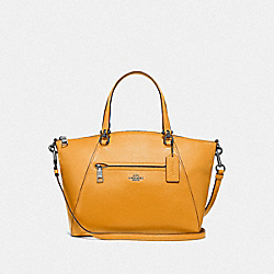PRAIRIE SATCHEL - F79997 - QB/YELLOW