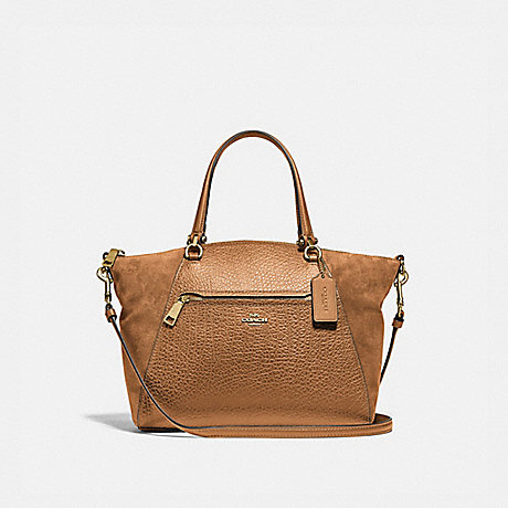 COACH F79999 PRAIRIE SATCHEL IM/LIGHT-SADDLE