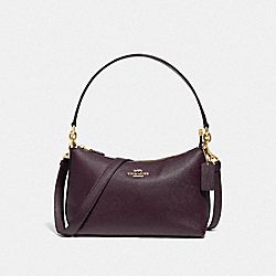 COACH F80058 - LEWIS SHOULDER BAG IM/RASPBERRY