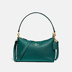 COACH F80058 - LEWIS SHOULDER BAG IM/VIRIDIAN