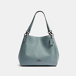 COACH F80268 - HALLIE SHOULDER BAG QB/SAGE