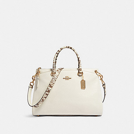 COACH F80321 MIA SATCHEL IM/CHALK