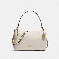 MIA SHOULDER BAG - F80323 - IM/CHALK