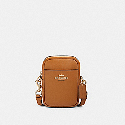 PHOEBE CROSSBODY - F80589 - IM/LIGHT SADDLE