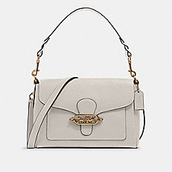 COACH F80840 - JADE MESSENGER IM/CHALK