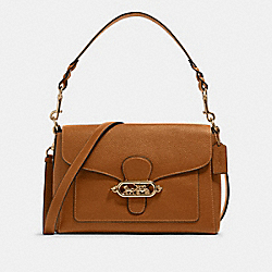 COACH F80840 - JADE MESSENGER IM/LIGHT SADDLE