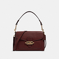 COACH F80840 - JADE MESSENGER IM/WINE