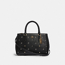 COACH F82131 - SURREY CARRYALL WITH GROMMETS IM/BLACK