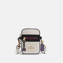 VALE PHOEBE CROSSBODY IN COLORBLOCK - F83267 - IM/CHALK