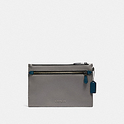 COACH F83403 Varet Messenger In Colorblock QB/HEATHER GREY MULTI