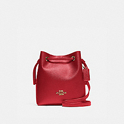COACH F83718 - LENA CROSSBODY IM/TRUE RED