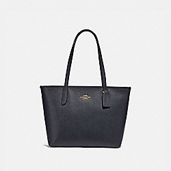 COACH F83857 - ZIP TOP TOTE IM/MIDNIGHT