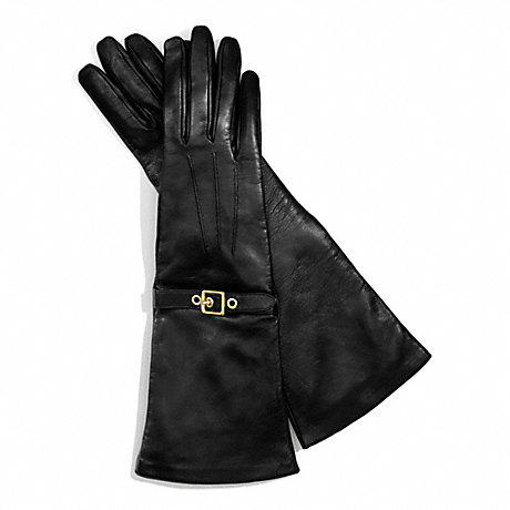 COACH F83864 LONG BUCKLE GLOVE ONE-COLOR
