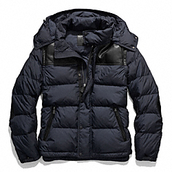 COACH F83999 - CLARKSON DOWN JACKET NAVY