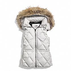 COACH F84096 Puffer Vest