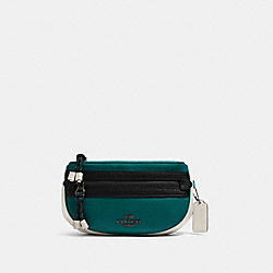 COACH F84230 - VALE BELT BAG QB/VIRIDIAN