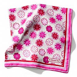 COACH F84260 Floral 27x27 Scarf