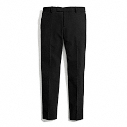 COACH STRETCH TWILL CIGARETTE TROUSER - ONE COLOR - F84389