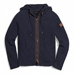 COACH F84513 Cotton Zip Hoodie