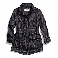 COACH F84569 - LIGHTWEIGHT FIELD PARKA BLACK