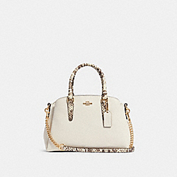COACH F84624 - MINI SAGE CARRYALL IM/CHALK