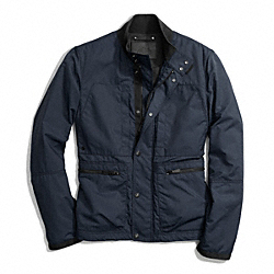 COACH F84829 - VARICK FIELD JACKET  NAVY