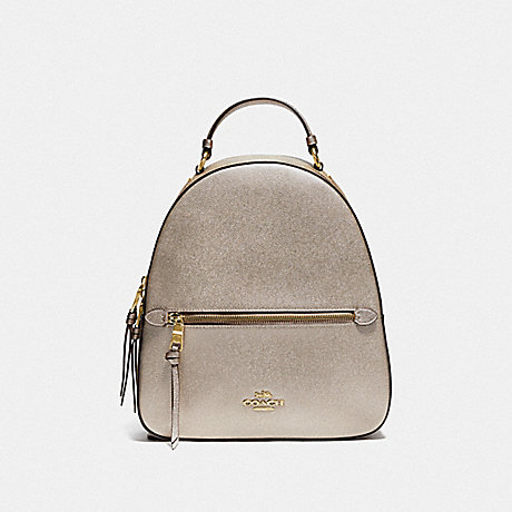COACH F85029 JORDYN BACKPACK IN SIGNATURE CANVAS IM/KHAKI-PLATINUM