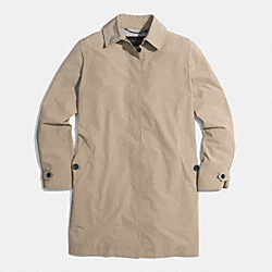 NYLON COMMUTER MAC JACKET - f85091 -  FAWN
