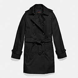 ICON MID LENGTH TRENCH - f85626 -  BLACK