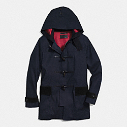 COACH F85638 Mac Duffle Coat NAVY