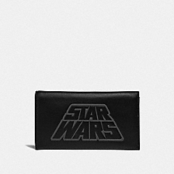 COACH F85705 - STAR WARS X COACH LARGE UNIVERSAL PHONE CASE WITH MOTIF QB/BLACK