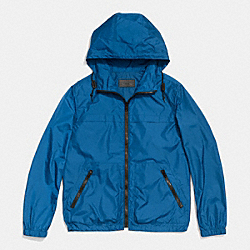 COACH F85806 Packable Windbreaker  MARINE, MARINA