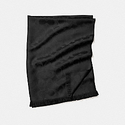 COACH F86011 Signature C Wrap BLACK