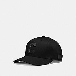 COACH VARSITY C CAP - BLACK - F86147