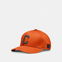 COACH VARSITY C CAP - ORANGE - F86147