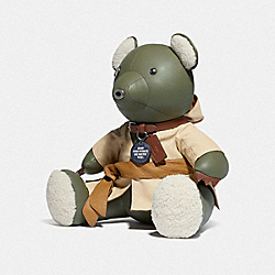 STAR WARS X COACH YODA COLLECTIBLE BEAR - F86393 - QB/MULTI