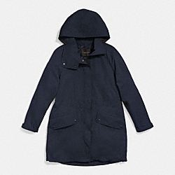 COACH F86433 - SPRING WINDBREAKER MIDNIGHT NAVY