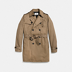 COACH F86514 Trench Coat TOBAC