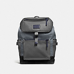 MANHATTAN BACKPACK - F86735 - GRAPHITE/BLACK/BLACK ANTIQUE NICKEL