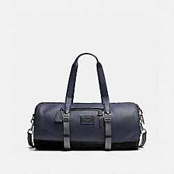 COACH F86737 Holdall MIDNIGHT NAVY/BLACK/BLACK ANTIQUE NICKEL