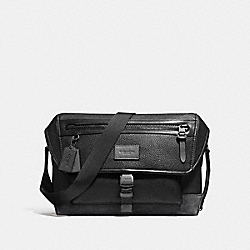 COACH F86739 Manhattan Bike Bag BLACK/GRAPHITE/BLACK ANTIQUE NICKEL